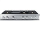 """48"""" Gas Rangetop, Graphite Stainless Steel, Natural Gas Product Image"""