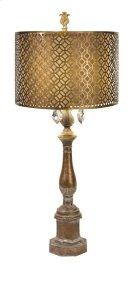 BF Savannah Table Lamp with Metal Shade Product Image