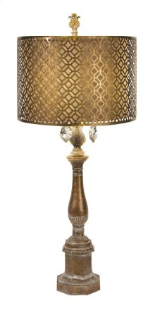 BF Savannah Table Lamp with Metal Shade