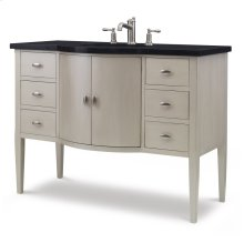 Sterling Bowfront Sink Chest - Champagne