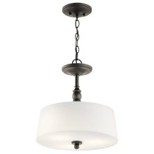 Versailles Collection Versailles 3 Light Pendant/Semi Flush OZ