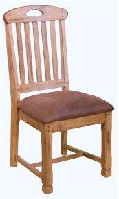 Sedona Slatback Chair/wooden Seat