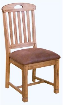 Sedona Slatback Chair/wooden Seat
