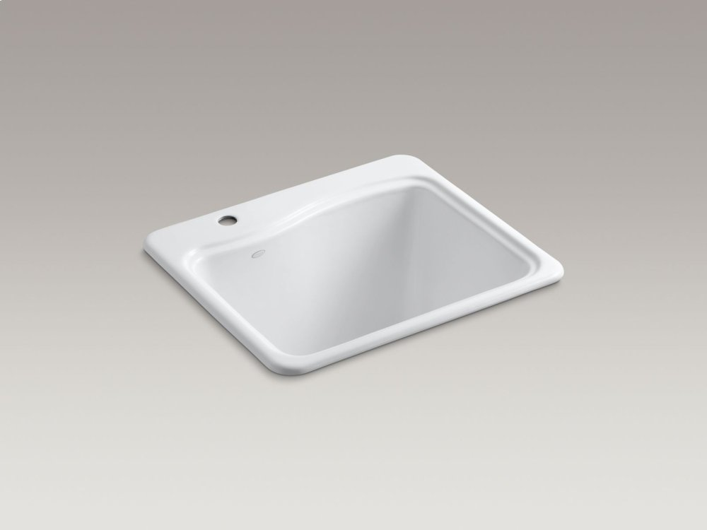 Kohler K66571FD | Studio41 | Cane Sugar Top-mount Utility Sink With ...