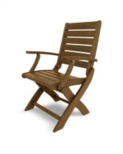 Teak Folding Chair Product Image