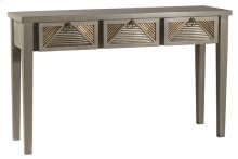 Bayshore Console Table - Distressed Graywash