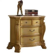 Lavish Gold Night Stand - 38''L x 19''D x 33''H