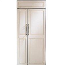 "GE Monogram® 36"" Built-In Side-by-Side Refrigerator"