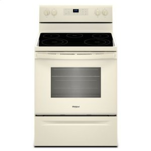 Whirlpool® 5.3 cu. ft. Freestanding Electric Range with Frozen Bake™ Technology - Biscuit-on-Biscuit - BISCUIT-ON-BISCUIT