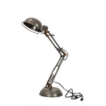 Spring Desk Lamp-Pewter