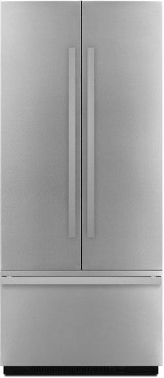 "NOIR(TM) 36"" Fully Integrated Built-In French Door Refrigerator Panel-Kit, NOIR"