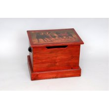 """#240 Kasey's Treasure Trunk 18.5""""wx13.5""""dx14.5""""h"""