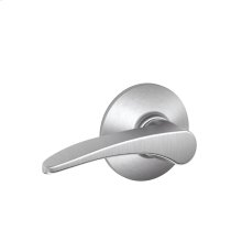 Manhattan Lever Hall & Closet Lock - Satin Chrome