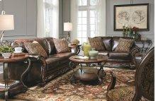 67402  Sofa & Loveseat - Vanceton Antique