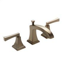 Widespread Lavatory Faucet Leyden Series 14 Bronze