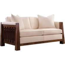61 Loveseat, Oak Highlands Sofa