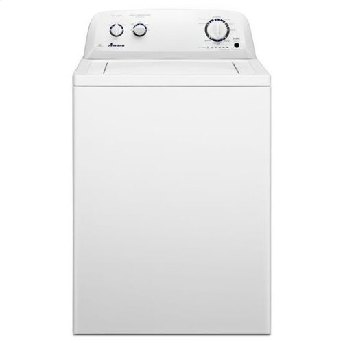 Amana® 3.5 cu. ft. Top-Load Washer with Porcelain Tub - White