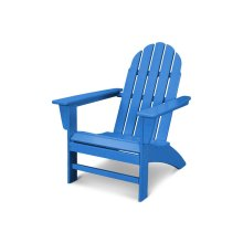 Pacific Blue Vineyard Adirondack Chair