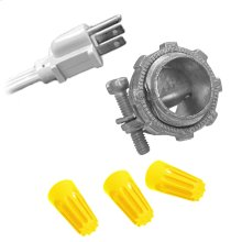 Garbage Disposal Wiring Kit for 3' Cord with Straight Plug