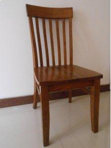 Slat Back Side Chair w/ Tapered Leg