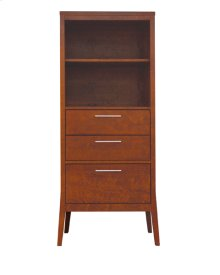 2300-1286 Bookcase with drawers