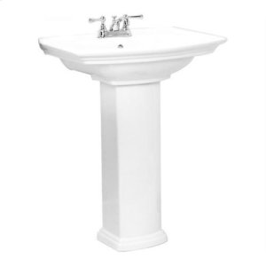 """Washington 550 Pedestal Lavatory - 4"""" Centerset Product Image"""