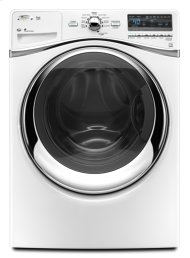 White Whirlpool® ENERGY STAR® Qualified Duet® 5.0 cu. ft. I.E.C. Equivalent* Front Load Washer
