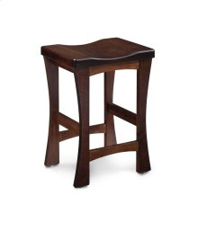 "Logan Stationary Barstool, 30"" Seat Height"