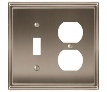 Mulholland 1 Toggle, 1 Receptacle Wall Plate