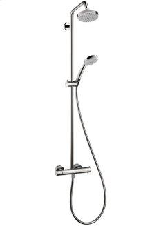 Chrome Showerpipe 150 1-Jet, 2.0 GPM
