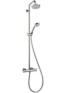Chrome Showerpipe 150 1-Jet, 2.0 GPM