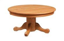 "Round 36"" Pedestal Coffee Table"