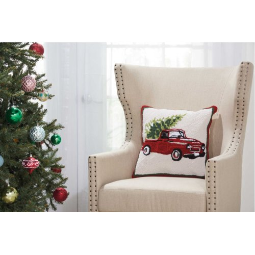 "Home for the Holiday Yx105 Multicolor 18"" X 18"" Throw Pillows"