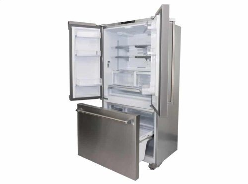 "36 "" FREESTANDING COUNTER-DEPTH FRENCH DOOR REFRIGERATOR/FREEZER"