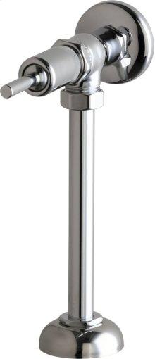 Angle Urinal Valve with Riser