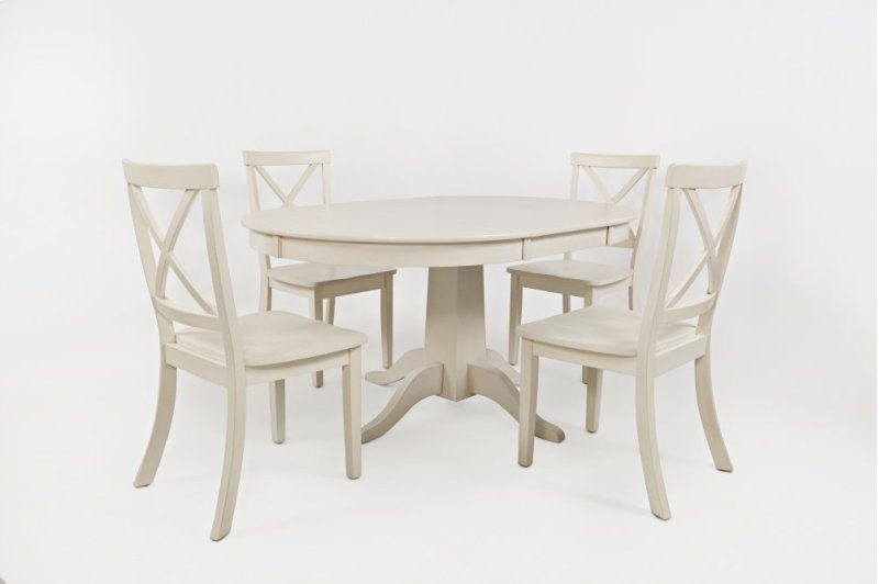 PCWXBACK In By Jofran In Albany NY Everyday Classics Round - Oval dining table for 4