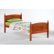 Licorice Bed in Cherry Finish