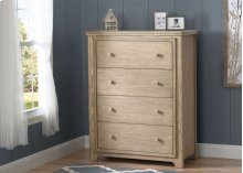 Langley 4 Drawer Chest - Rustic Driftwood (112)