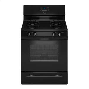 5.0 cu. ft. Capacity Gas Range with AccuBake® Temperature Management System - BLACK