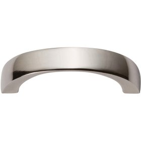 Tableau Curved Handle 1 13/16 Inch - Polished Nickel
