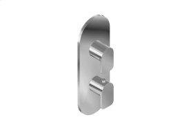 Sento M-Series Valve Trim with Two Handles