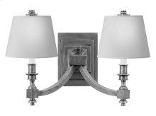 Visual Comfort MS2021SN-NP Michael S Smith Eiffel 2 Light 19 inch Sheffield Nickel Decorative Wall Light