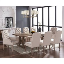 Aspen/Lucian 9pc Dining Set, Beige