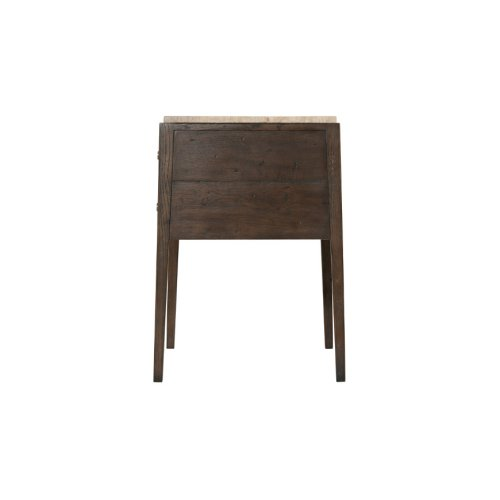 Hawkesford Nightstand, Dark Echo Oak