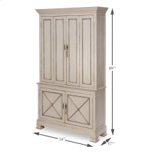 Painted Directoire Style Cabinet