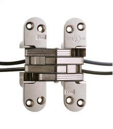 Model 218PT Power Transfer Invisible Hinge Bright Nickel