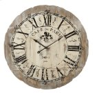 "Distressed ""Cafe de Paris"" Wall Clock. Product Image"