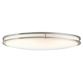 Verve Collection 2 Light Oval Ceiling Fluorescent  Brushed Nickel