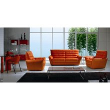 Divani Casa B234 Leather Sofa and Loveseat