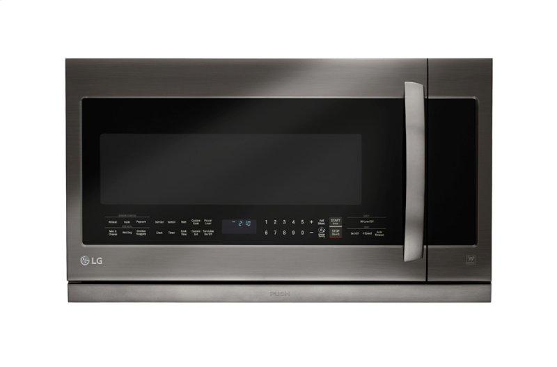 Lg Black Stainless Steel Series 2 Cu Ft Over The Range Microwave